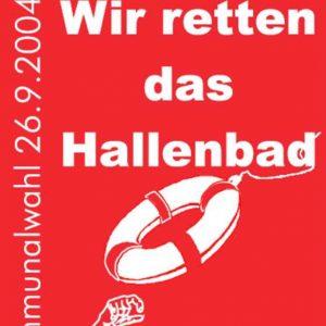 SPD-Plakat zur Bedburg-Wahl 2004