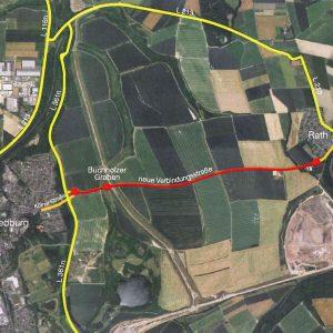 Neue Verbindungsstraße Bedburg-Rath
