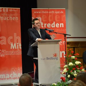 Sascha Solbach während seiner Vorstellung