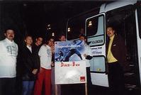 Der Bedburger Disco-Bus im Einsatz
