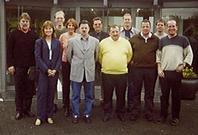 Teilnehmer des Rhetorik-Seminars in Eitorf 2001