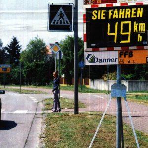 kostenloses Geschwindigkeitsanzeigegerät