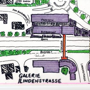 Ideenskizze zur Lindengalergie
