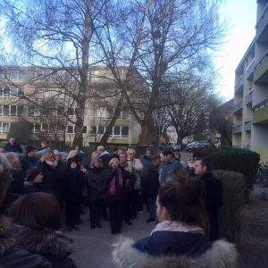 Bürgerinformation Offenbachstraße Bedburg 18.01.2016