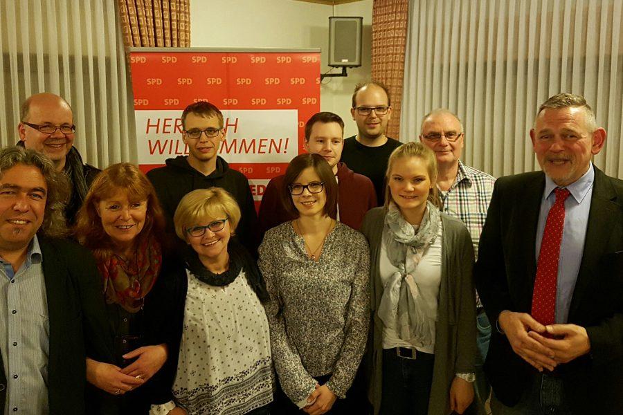 Der SPD-Vorstand stellt sich vor: