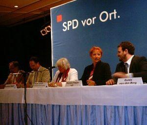 Walter Boecker, Bernhard Hadel, Renate Schmidt, Guido van den Berg