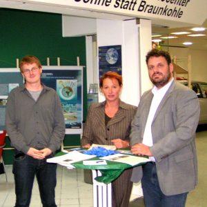 Rhein-Erft SPD besucht Greenpeace in Grevenbroich