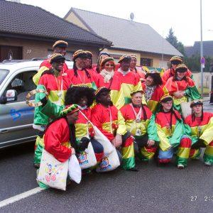 Karneval 2006: Die SPD beim Rosenmontag-Umzug in Kirch- Grottenherten
