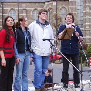 Die Schülersprecher der drei weiterführenden Bedburger Schulen
