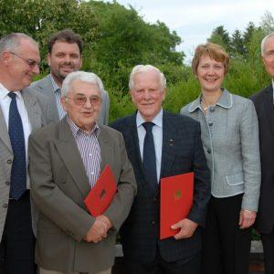 50 jähriges SPD Jubiläum von Hans Schmitz und Peter Bolz