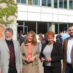 Horst Druch, Birgit Kunold, Gabriele Frechen MdB, Guido van den Berg