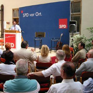 Guido van den Berg bei der 140 Jahr Feier der Erftkreis-SPD