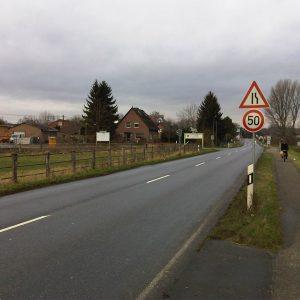 Geschwindigkeitsbegrenzung Blerichen